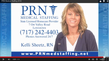 PRN Medical Staffing TV Commercial